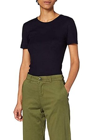 MERAKI Marca Amazon - Camiseta con Cuello Redondo Mujer, 42