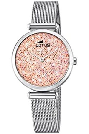 Lotus Mujer Relojes - Reloj Análogo clásico para Mujer de Cuarzo con Correa en Acero Inoxidable 18564/4