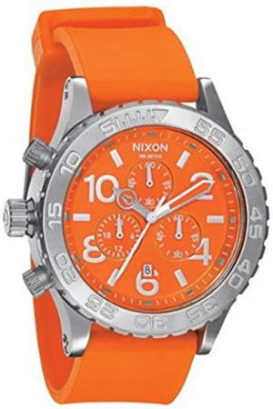 Nixon Hombre Relojes - A038877-00 - Reloj cronógrafo de Cuarzo para Hombre con Correa de plástico
