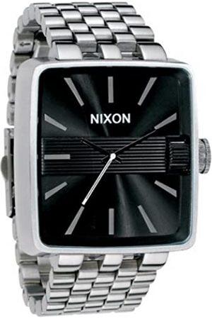 Nixon Hombre Relojes - A004000-00 - Reloj analógico de Cuarzo para Hombre con Correa de Acero Inoxidable