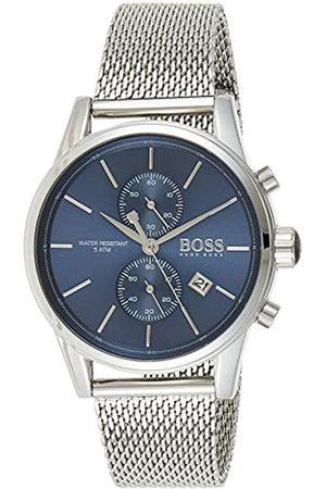 HUGO BOSS Hombre Relojes - Reloj Cronógrafo para Hombre de Cuarzo con Correa en Acero Inoxidable 1513441