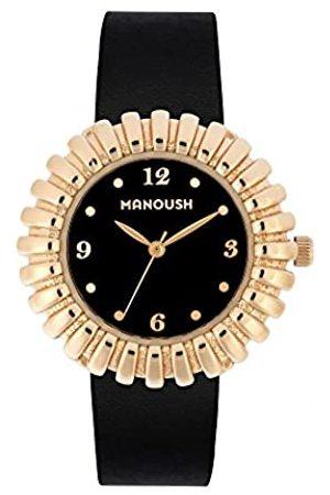 Manoush Hombre Relojes - RelojAnalógicoparaUnisexAdultosdeCuarzoconCorreaenPUMSHMA03