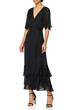 TRUTH & FABLE Mujer Vestidos - Marca Amazon - Vestido Bajo con Volante Mujer, 46