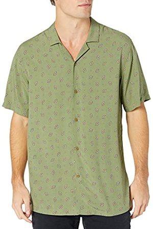 Goodthreads Hombre Casual - Standard-fit Short-Sleeve Camp Collar Hawaiian Shirt Camisa XL