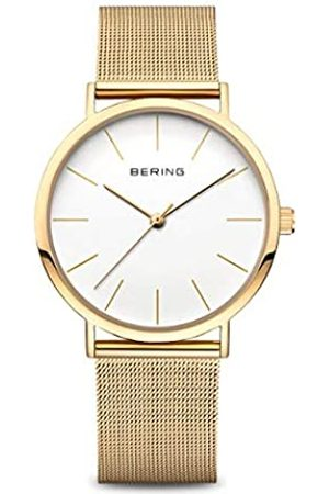 Bering Mujer Relojes - Reloj Analógico Classic Collection para Mujer de Cuarzo con Correa en Acero Inoxidable & Cristal de Zafiro 13436-334