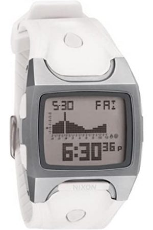 Nixon Hombre Relojes - A075100-00 - Reloj Digital de Cuarzo para Hombre con Correa de plástico