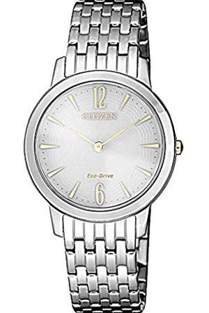 Citizen Mujer Relojes - Reloj Analógico para Mujer de Cuarzo con Correa en Acero Inoxidable EX1498-87A