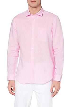 MERAKI Marca Amazon - Camisa Clásica de Semihilo Hombre, L