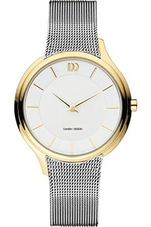 Danish Design Mujer Relojes - DanishDesignRelojAnalogicoparaUnisexdeCuarzoconCorreaenAceroInoxidableIV65Q1194