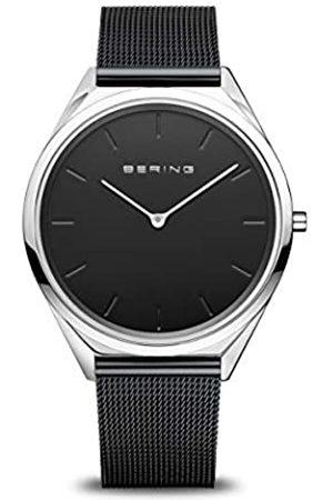 Bering Reloj Analógico para Unisex de Cuarzo con Correa en Acero Inoxidable 17039-102