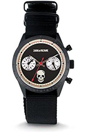 Zadig & Voltaire Hombre Relojes - Zadig&VoltaireRelojAnalógicoparaUnisexdeconCorreaenNailonZVM108