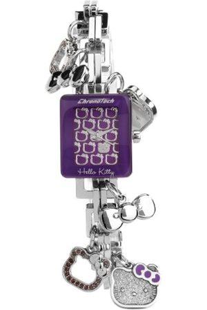 Hello Kitty Mujer Relojes - CHRONOTECH for - Reloj analógico de mujer de cuarzo con correa de acero inoxidable - sumergible a 30 metros