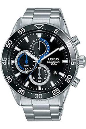Lorus Hombre Relojes - Reloj Analógico para Hombre de Cuarzo con Correa en Acero Inoxidable RM335FX9