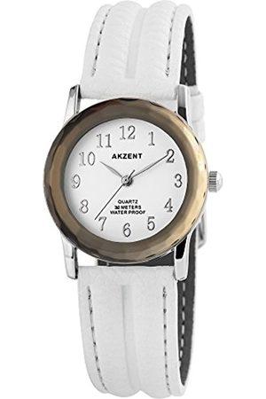 Akzent Mujer Relojes - RelojAnalógicoparaMujerdeCuarzoconCorreaenCueroSS7322100013