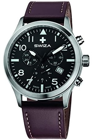 Swiza Hombre Relojes - Reloj de Cuarzo Suizo para Hombre Wat.0353.1002 Siriuz con Pantalla analógica