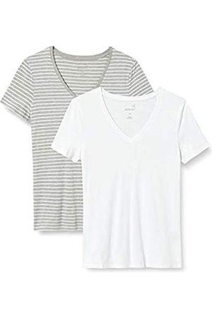 MERAKI Mujer Camisetas y Tops - AZJW-0027 Camiseta, 38