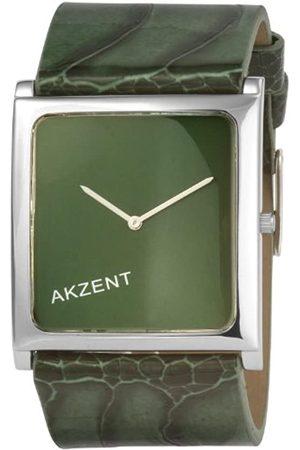 Akzent Mujer Relojes - 185926000005 - Reloj digital de mujer de cuarzo con correa de piel