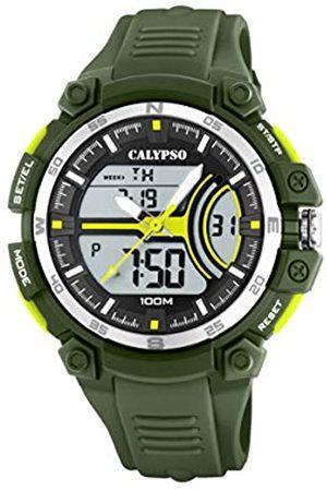 Calypso Watches Hombre Relojes - Reloj Analógico-Digital para Hombre de Cuarzo con Correa en Plástico K5779/4