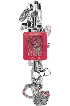 Hello Kitty Reloj Analógico para Mujer de Cuarzo con Correa en Acero Inoxidable DW0468