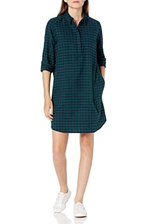 Goodthreads Brushed Flannel Popover Dress Button-Down-Shirts