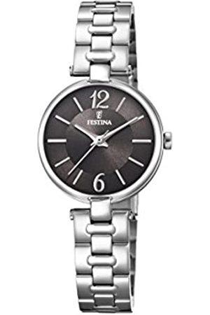 Festina Mujer Relojes - Reloj Análogo clásico para Mujer de Cuarzo con Correa en Acero Inoxidable F20311/2