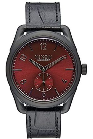 Nixon Unisex Reloj analógico Cuarzo Piel de Piel C39 a4591886 00