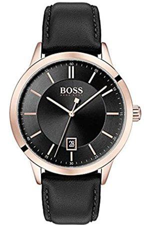 HUGO BOSS Hombre Relojes - Reloj Analógico para Hombre de Cuarzo con Correa en Cuero 1513686