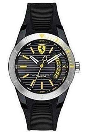Scuderia Ferrari Hombre Relojes - Reloj Analógico para Hombre de Cuarzo con Correa en Silicona 0840015