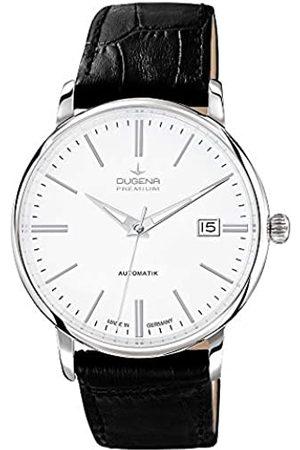 DUGENA Hombre Relojes - Premium - Reloj de automático para Hombre, con Correa de Cuero
