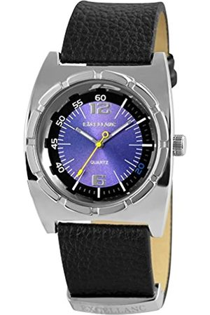 Excellanc Hombre Relojes - 295023000095 - Reloj analógico de Cuarzo para Hombre
