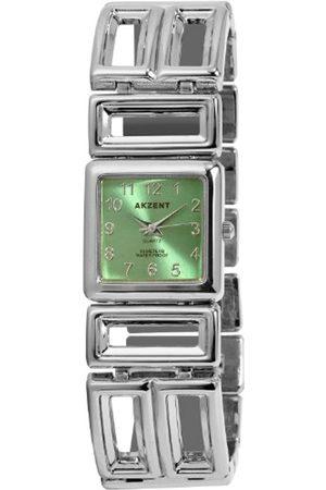 Akzent Mujer Relojes - Acento de Mujer Relojes con Metal Banda ss7126500072