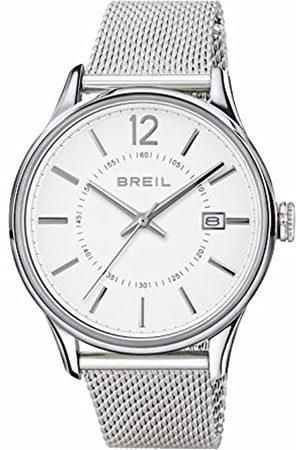 Breil Reloj Analogico para Hombre de Cuarzo con Correa en Acero Inoxidable TW1561