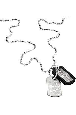 Diesel Hombre Collares - Collar de Hombre con Acero Inoxidable