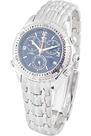 TIME FORCE Hombre Relojes - TimeForceRelojCronógrafoparaHombredeCuarzoconCorreaenAceroInoxidableTF1793M-05M