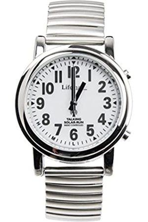 Lifetime Operations Ltd. Relojes - 430.1E - Reloj de Cuarzo Unisex, con Correa de Acero Inoxidable
