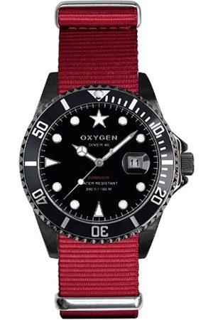 Oxygen Relojes - EX-D-MBB-40-RE - Reloj analógico de Cuarzo Unisex