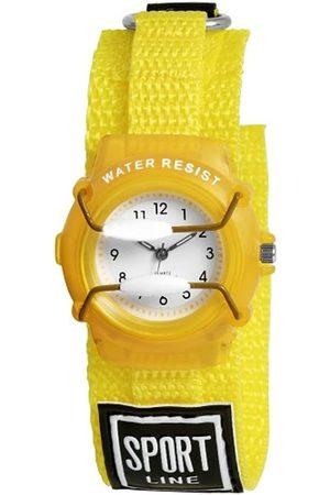 Shaghafi 440004000001 - Reloj analógico unisex de cuarzo con correa textil - sumergible a 30 metros