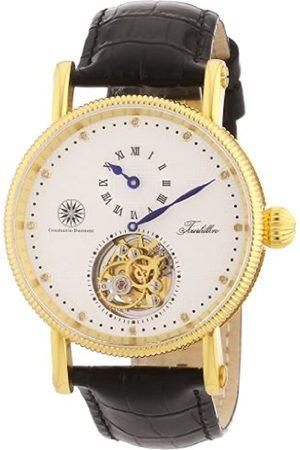 Constantin Durmont Hombre Relojes - Reloj analógico para Caballero de Cuero