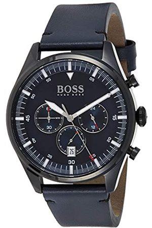 HUGO BOSS Hombre Relojes - Reloj Analógico para Hombre de Cuarzo con Correa en Cuero 1513711