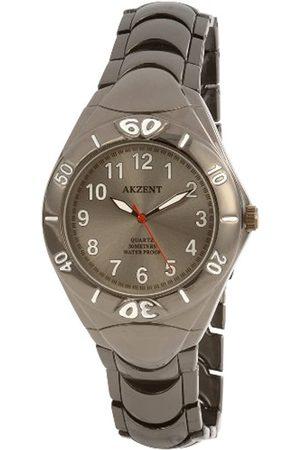 Akzent Acento de Hombre Relojes con Metal Banda ss7671500007