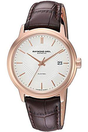 Raymond Weil Hombre Relojes - Reloj Analógico para Hombre de Automático con Correa en Cuero 2237-PC5-65001