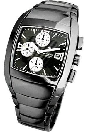 Pierre Lannier 261F439 - Reloj de caballero de cuarzo con correa de acero inoxidable - sumergible a 200 metros