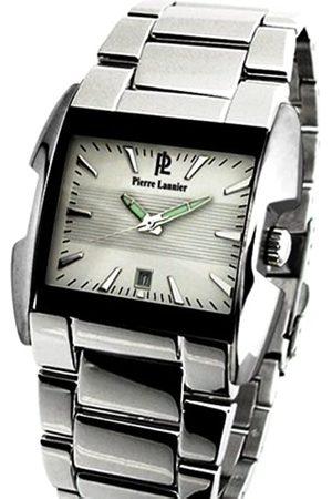 Pierre Lannier 271A121 - Reloj analógico de Cuarzo para Hombre con Correa de Acero Inoxidable