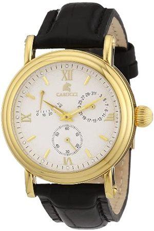 Carucci CA1125GD-BK - Reloj de Caballero automático