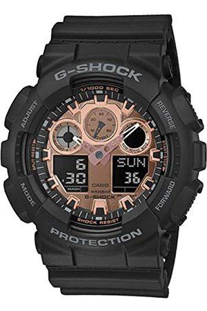 Casio Reloj Analógico-Digital para Hombre de Cuarzo con Correa en Resina GA-100MMC-1AER
