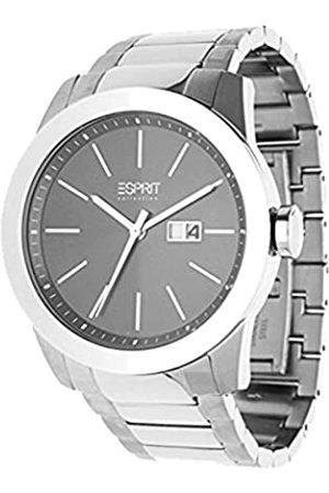Esprit Hombre Relojes - EL900161003 - Reloj analógico de Cuarzo para Hombre con Correa de Piel