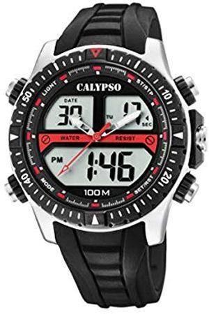 Calypso Reloj Analógico-Digital para Hombre de Cuarzo con Correa en Plástico K5773/4