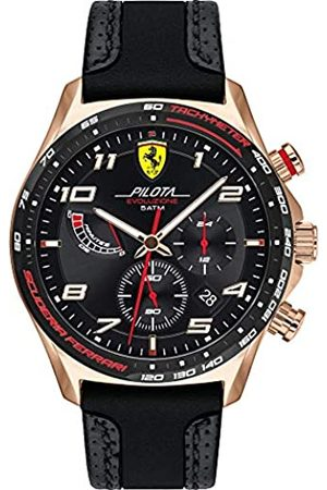 Scuderia Ferrari Hombre Relojes - ScuderiaFerrariRelojparadeCuarzoconCorreaenCuero830719
