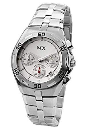 MX Fashion Hombre Relojes - Reloj analogico para Hombre de Cuarzo con Correa en Acero Inoxidable 93139