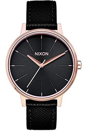 Nixon Mujer Relojes - Reloj Analógico para Mujer de Cuarzo con Correa en Cuero A108-1098-00